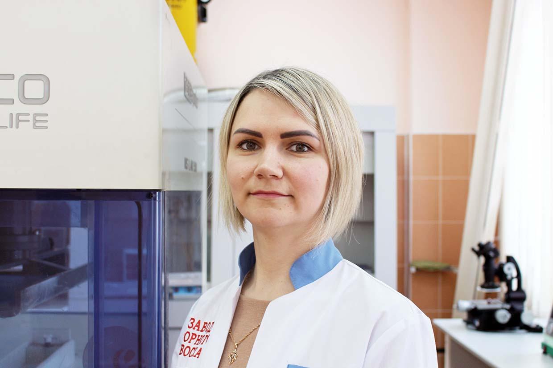начальник исследовательской лаборатории ОАО «Завод горного воска»Екатерина МАЗОВКА